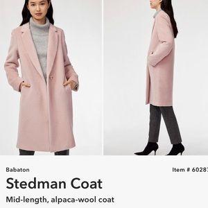 NWT Babaton Stedman Alpaca/Wool Coat